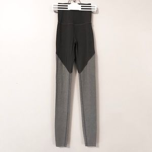 Beyond Yoga High-Wasted Two-Toned Gray Leggings